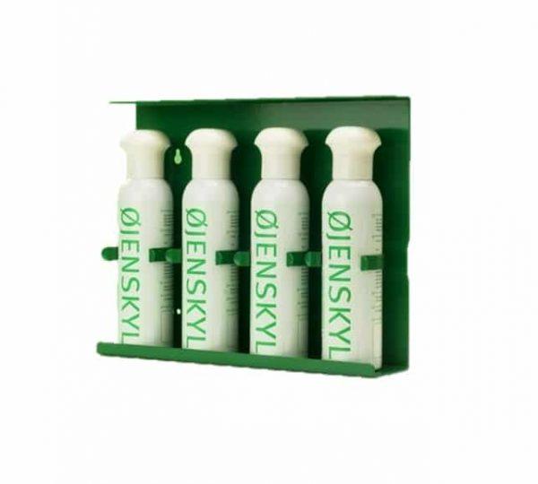 Øjenskyllespray 4 x 250 ml med vægholder