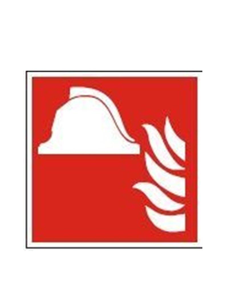 Brandskilte - symboler med eller uden tekst