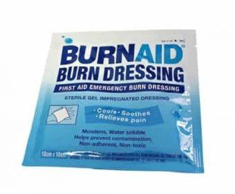 Burnaid Dressing 10 x 10 cm / Brandsårsforbinding