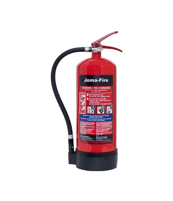 6 ltr ABF Universal Brandslukker Joma-Fire